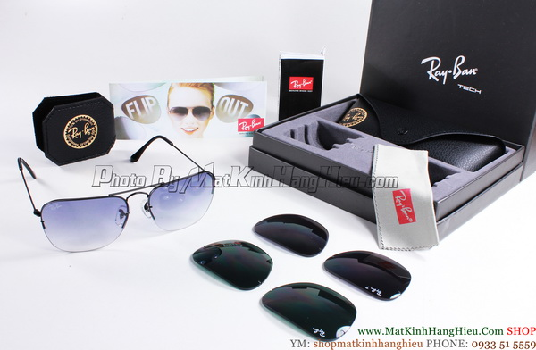 Rayban 3461 002/71 CARAVAN FLIP OUT